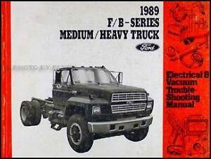 1989 FORD f/b-series Electrical / Vacuum troubleshooting manual Edmonton Edmonton Area image 1