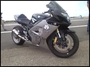 GSXR street legal drag bike