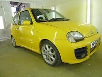 Fiat seicento sporting 1.2 8v unfinished project fully resprayed!!