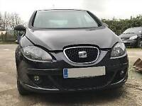 Seat Altea reference. Black, 1.6, manual, petrol, 5 door hatchback