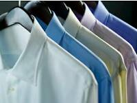 Shirt ironing and presser needed for busy dry cleaners