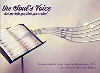 Private Voice Lessons: All Ages! All Styles! All Welcome!