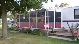 Aluminum structured Add-A-Room for Roll-Up Awnings Windsor Region Ontario image 3