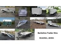 Car Trailers, Flat bed Trailers, Box Trailers, Boat Trailers, Horse Trailers (FOR HIRE)