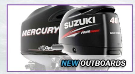 Mercury and Suzuki Marine Engines