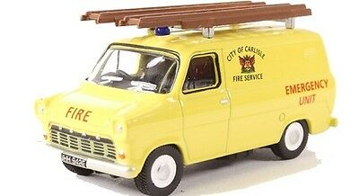 Ford Transit MK1 Carlisle Fire Service Van 1:76 OO Oxford Die-cast 76FT1004