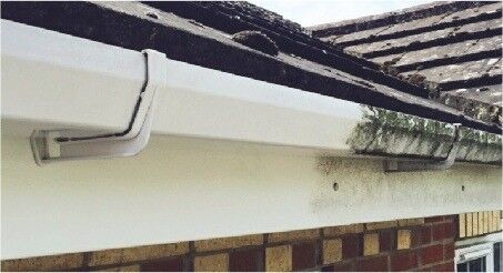 Glasgow Gutter Cleaning Service Sofits Fascia Upvc