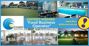 FOOD BUSINESS OPPORTUNITY  Expressions Of Interest Coogee Eastern Suburbs Preview