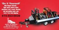 MINI DIGGER/EXCAVATOR - Do it yourself or use our operator