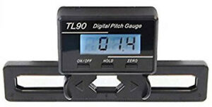 TL90 LCD Display Digital Heli Pitch Gauge