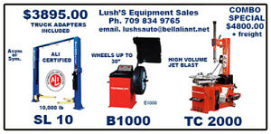 Tire Changer Wheel Balancer Combo Special