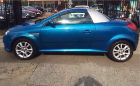 Convertible Vauxhall Tigra (54 plate) for sale