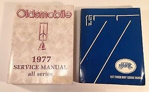 1977 Oldsmobile Service Manuals