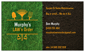 Murphy's LAW'n Order Munno Para Playford Area Preview
