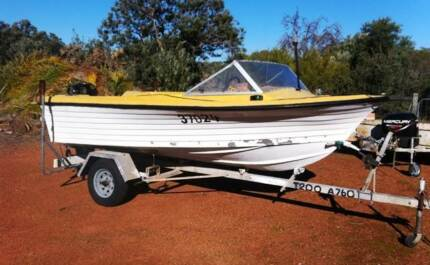 Runabout / 50hp 4 stroke
