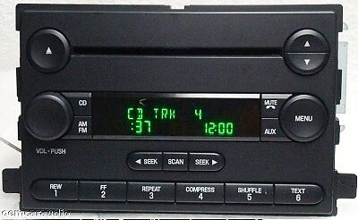 04 05 06 Ford F150 Fusion Mustang Truck F 150 Radio  CD Player  4L3T-18C815-AM