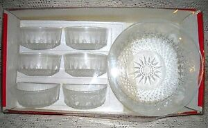 D'arques 7 Piece set of serving bowls. Made in France