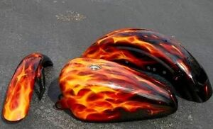Spray Painter Wanted for Flame Job on motorcycle See Pics Canning Vale Canning Area Preview