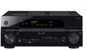 Pioneer Elite VSX 90TXV 7.1 Channel 770 Watt Receiver  1080p HDM