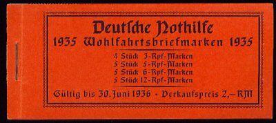 DR, 1935 Trachten Markenheftchen 41 **, (11145)