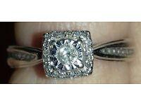 Princess cut diamond ring (REDUCED)