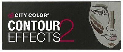 City Color Contour Effects 2 Palette (Contour - Bronze - Highlight)