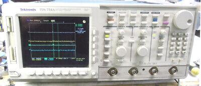 Tektronix Tds754a 500mhz-2g Sample Rate Oscilloscope Instavu