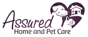 Professional in-home pet sitting services!