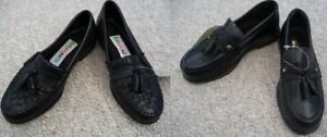 Brand New Black Dress Shoes With Tassels - Child's Size 11 or 12
