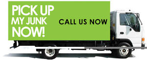 sameday junk removal furniture disposal- call now)) 20 ft truck