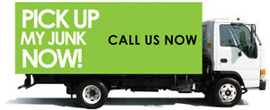 call now sameday junk removal garbage removal- 20ft truck