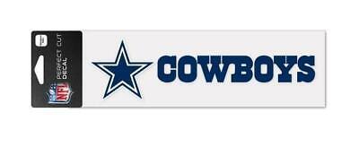 Dallas Cowboys Aufkleber 23cm Logo Decal Badge Emblem NFL Football ()
