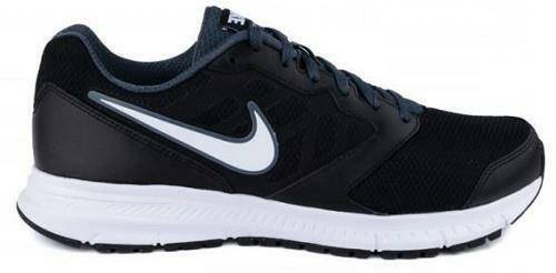 Nike - Men's NIKE DOWNSHIFTER 6 684652 Black/White Running/Casual Athletic Shoes NEW
