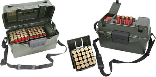 MTM Casegard Shotgun Hunter Wild Camo 100 Round 12 Gauge Ammo Box