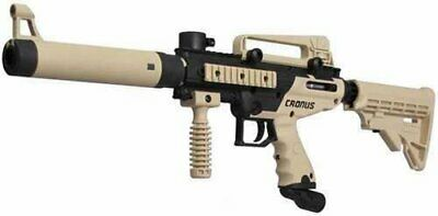 Tippmann Cronus Tactical Paintball Gun - Black / Tan