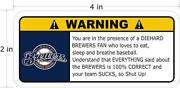 Brewers Sticker