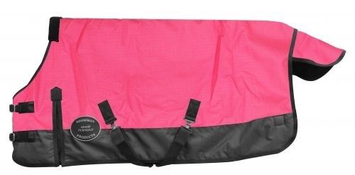 """Showman TEAL PONY /& YEARLING Size 56/""""-62/"""" Waterproof Breathable Turnout Blanket!"""
