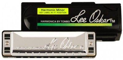 Lee Oskar Harmonic Minor Harmonica - F (1910HMF)