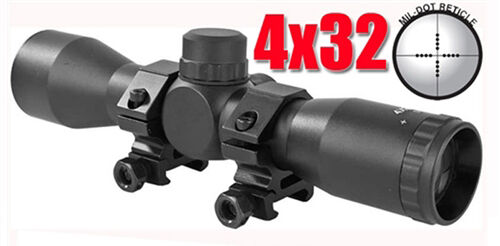 Trinity 4X32 Scope For Tiberius Arms Paintball marker tactical woodsball gear
