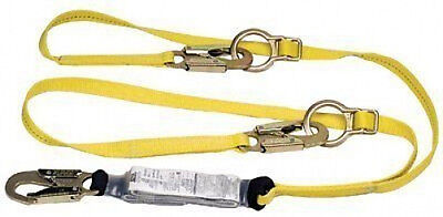 Msa 10072473 Lanyard Workman 6 Energy Double Sal With Intergrated Tie-back