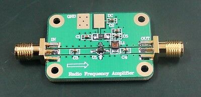 Rf High Frequency Wide Band Amplifier Low Noise Amplifier Lna 1-2000mhz Gp 32db