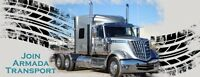 WANTED OWNER OPERATORS FOR TRIAXLE OR SUPER B FLATDECKS