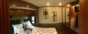 All the comfort of home on wheels ! AT ORANGRE RV Inc.