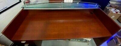 Stylish Wooden Commercial Reception Desk