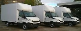 Man & Van Transit/Luton Big Truck Hire House/Office Logistic Move Removals Contract Pallets Deliver
