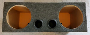 Subwoofer Enclosure for two Tens