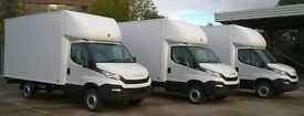 QUICK REMOVALS TRUCK LUTON VAN MAN SERVICES HIRE MOVERS HOUSE OFFICE ANY FURNITURE DELIVERY LONDON
