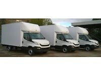 MAN&LUTON VAN TRUCK URGENT SHORT NOTICE HOUSE/OFFICE REMOVAL/MOVING/PIANO/BIKE/DELIVERY/DUMP/RUBBISH