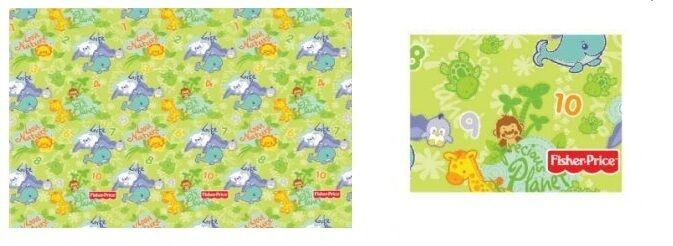 New Fisher Price Foam Kids Baby Soft Protective Hygenic Play Room Bear Floor Mat