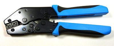 Philmore Molex Amp .062 .093 Ratchet Ubarrel Pin Crimp Crimper Crimping Tool